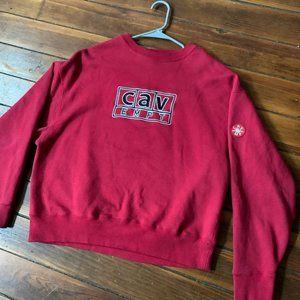 Cav Empt Crewneck Size Small